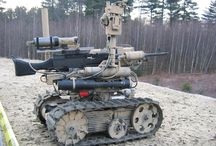 Military and enforcement robotics / Military, police and other law enforcement solutions