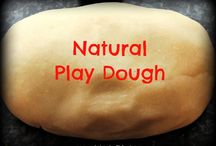 Natural play dough