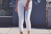 How To Style: White Trousers ♡
