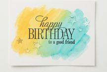 Stampin' Up! Happy Birthday Everyone (AC15)