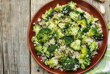 quinoa -brocolis