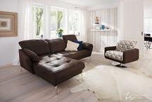 ROOMS : modern SOFA : by W.SCHILLIG / Couch, Garnituren, Polstermöbel von W.SCHILLIG, modern und trendy