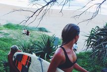 surf's up / the waves are perfect. Grab a coffee and let's go