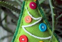 Christmas - Felt Ornaments