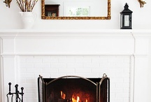 Mantle decor / by Kendall Cox