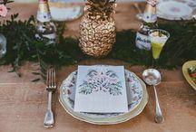 Boda tropical, boda temática / Boda tropical, boda temática