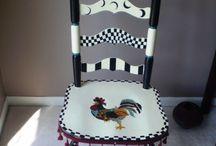 chaise poule