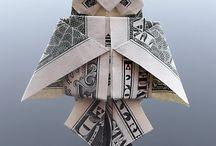 hajtogatás pénzből