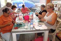 Make en Take door Jannie van Broekhoven - 23 juli 2016 / Op 23 juli 2016 gaf Jannie van Broekhoven een Make en Take.
