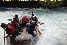 Vadvizi evezés Horvátországban / Rafting ( #vadvizi #evezés )a Zrmanja folyón, Horvátországban...