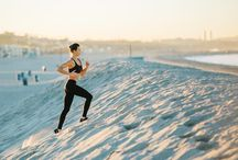 Run, Box, Dance, & Live / Mix of ways to live a healthy, active, and fun life