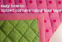 how to sew corner/come fare gli angoli
