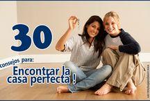 30 CONSEJOS PARA MUDARTE DE CASA / No dudes en tener en cuenta estas 30 recomendaciones para encontrar la casa (o apartamento) perfecto.