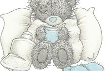 Tatty Teddy Bear