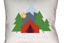 Jackson Hole Throw Pillows