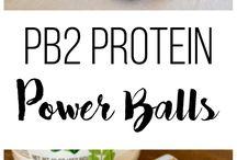 Healthy snacks / Power food