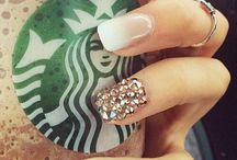 nail and coffee