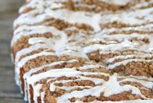 Various Desserts Recipes to try / @PattySaveurs - Cakes, quick breads, pies, cheesecakes, all sorts of desserts I would like to try, or recipes I have done and shared already...