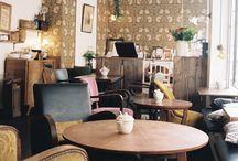 café où travailler/étudier