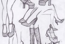 Draw shoes
