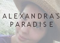✿Alexandra's Paradise✿ / This is a board about my lifestyle, fashion and everything that inspires me blog. Hope you'll like it! http://alexandrasparadise.blogspot.com/