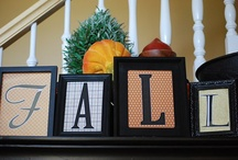 Fall DIY decor! / With fall just around the corner, it's time to start decorating and trying your hand at a little DIY magic!