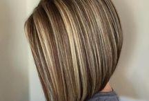 Világosbarna haj
