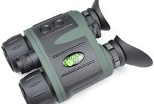 Night Vision Binoculars / Hollywood might make you believe that only covert military operatives require night vision binoculars, but in reality these useful devices come in handy for many situations.