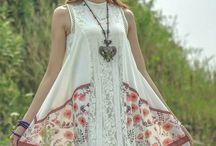 Vintage hippie apparel