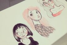 Character Design - Woman