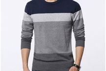 Knitting patterns - cardigan masculino