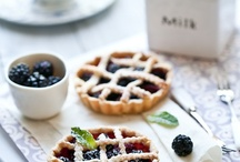 Berry themed tea party