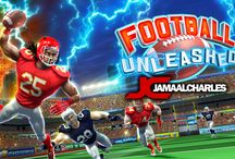 Football Unleashed JAMAAL CHARLES / The hard hitting AMERICAN FOOTBALL game of the year is here, featuring fierce running back JAMAAL CHARLES!