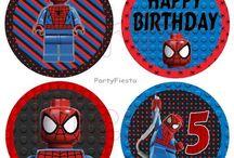 Spiderman Lego Birthday Party