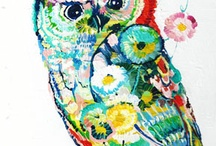 i love owls / by Jamie Buchanan