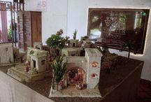 Pesebres Monumentales / Por encargo, hemos realizado algunas Pesebres de Gran Tamaño.  Aquí puede ver varios de ellos.