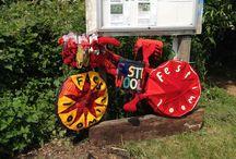 Triangle Garden Hitchin Yarn Art