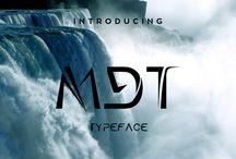 Stunning MDT typeface / Great MDT font for designs, for titles, for logo, branding etc