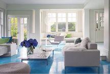 Un suelo a todo color. Tendencias DIY (hazlo tú mismo ) / Usa tú mismo los colores para cambiar tus ambientes por poco dinero.