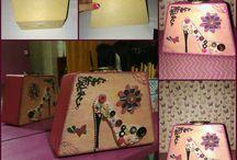 caixas traquitanas / scrapbook , decoupage, artesanato, scrapdecor, trabalhos manuais.....  https://www.facebook.com/Traquitanas-587253224809498/