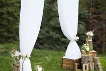 out-door garden ceremony