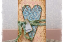 Tammy Tutterow  Love / All items here are made by Tammy, I love her style..