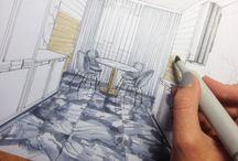 Mimari çizimler