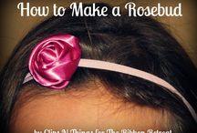 ribbon, flower, etc