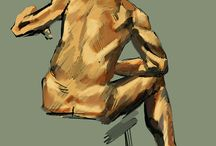 Life Drawing / What it says on the tin, really...