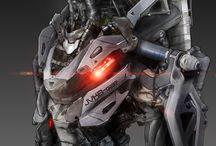 Robots, cyborgs & androids