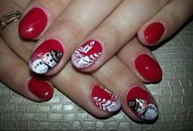 nails christmas