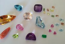 Pedras que reluzem / Lapidacao e formas diferenciadas