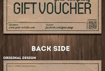 voucher & sale design inspiration
