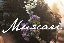 Flores pelo novias / Ideas para peinados con flores